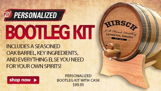 PERSONALIZED BOOTLEG KIT WITH CASK