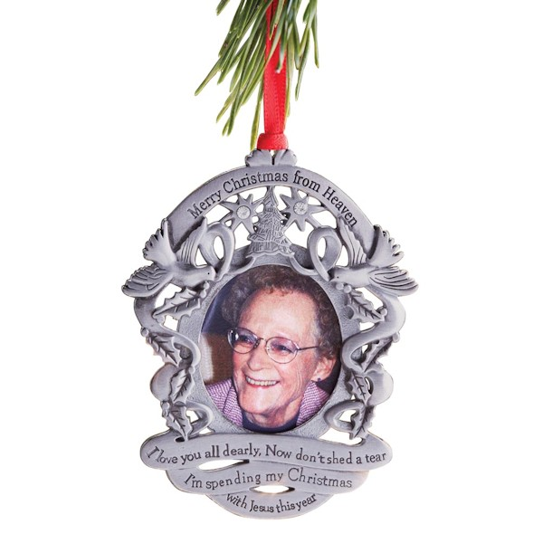 merry christmas from heaven ornaments engraved at wireless catalog