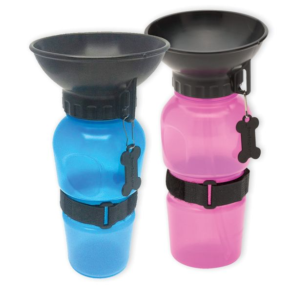 Portable Water Bottle And Bowl For Your Dog: Set Of 2 Highwave AutoDogMugs