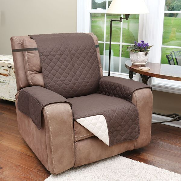Recliner Chair Cover With Pockets Protects Furniture From Pet Hair View Large Image