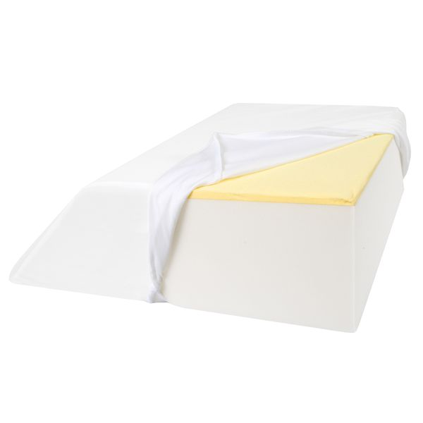 Support Plus Replacement Zippered Pillow Cover For Leg Wedge 21 Inches Wide
