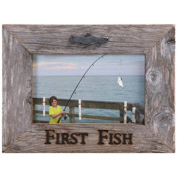 Larger image for Fishing picture frame