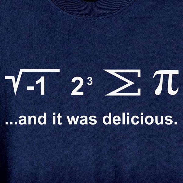 I Ate Some Pi Shirt With Math Equation At Wireless Catalog