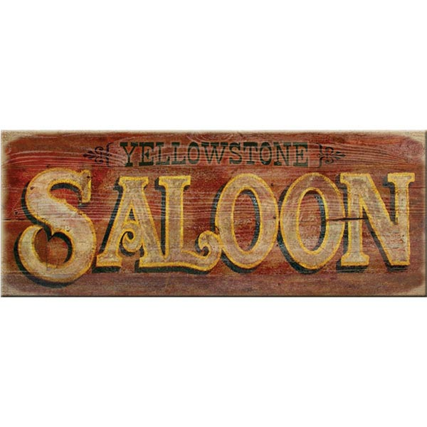 Personalized Saloon Sign At Wireless Catalog Vn8592
