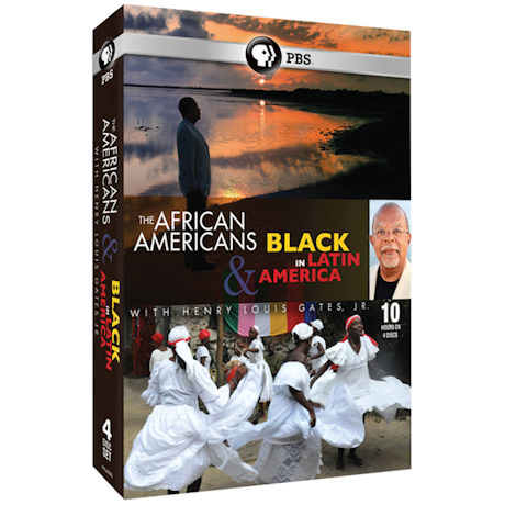 The African Americans & Black in Latin America with Henry Louis Gates, Jr. DVD