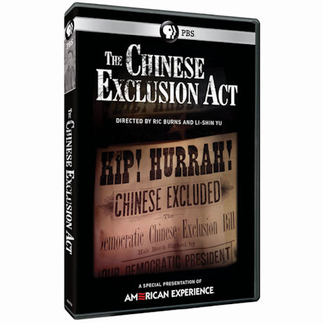 American Experience: The Chinese Exclusion Act DVD