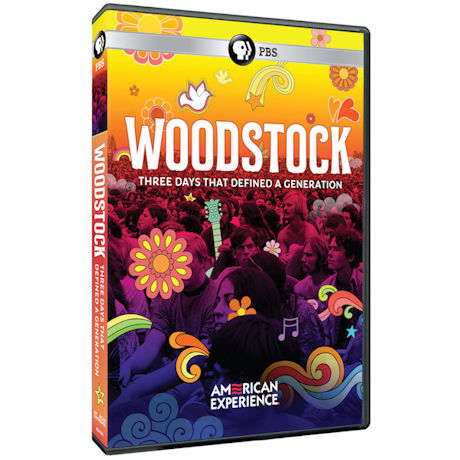American Experience: Woodstock: Three Days That Defined A Generation DVD