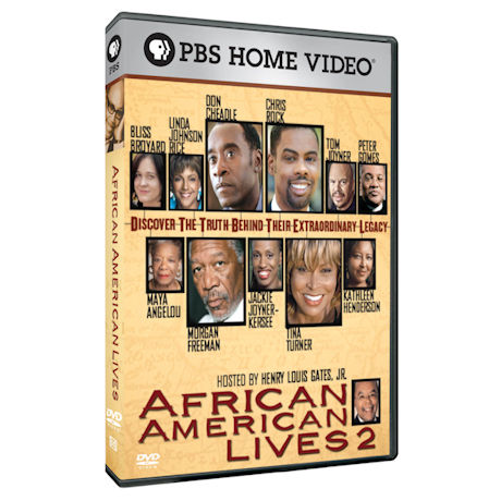 African American Lives 2 DVD