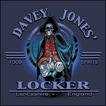 Davey Jones Locker - Lancashire, England T-Shirts