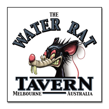The Water Rat Tavern - Melbourne, Australia T-Shirts
