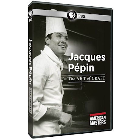 American Masters: Jacques Pepin: The Art of Craft DVD