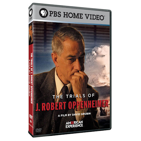 American Experience: The Trials of J. Robert Oppenheimer DVD