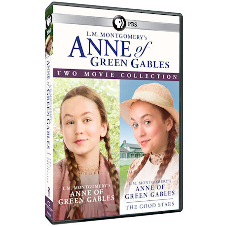 L.M. Montgomery's Anne of Green Gables Two Movie Collection DVD