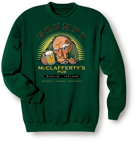 Grumpy Mcclafferty's Pub - Dublin, Ireland T-Shirts