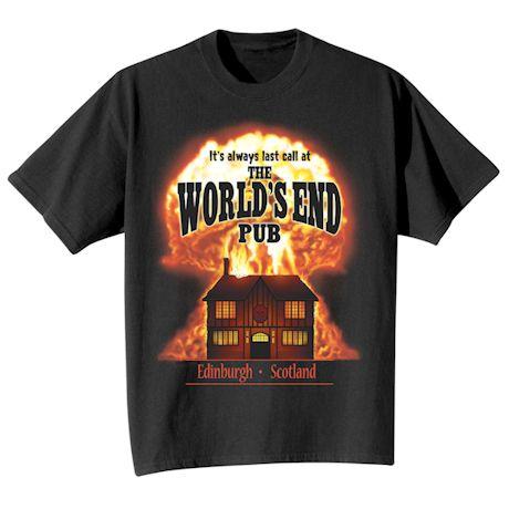 The World's End Pub - Edinburgh, Scotland T-Shirts