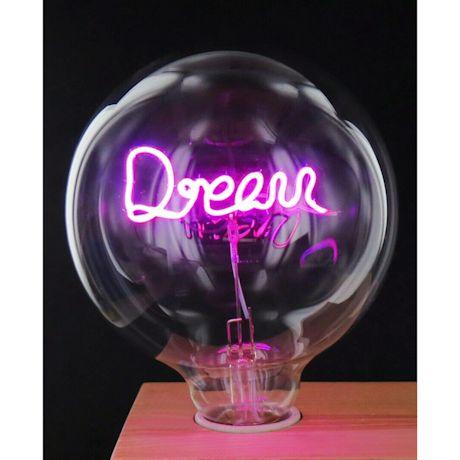 Led Word Lightbulbs