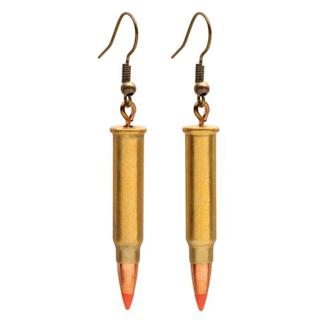 Bullet Earrings & Necklace