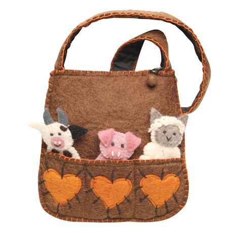 Mom's Puppet Handbag
