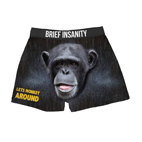 Comical Boxers - Monkey Around - Chimp