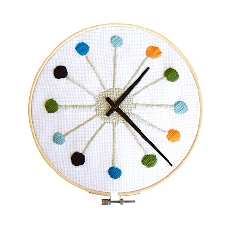 Cross-Stitch Clock Kit