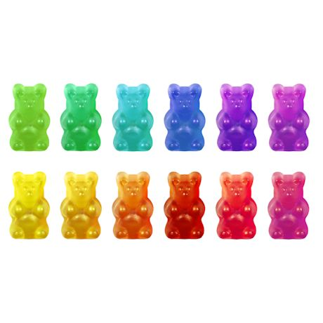 Gummy Bear & Worm Silicone Molds