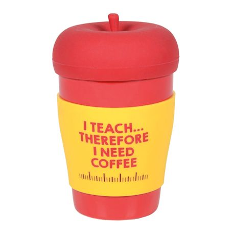 Apple Topped Teacher Mug