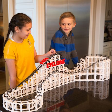 Roller Coaster Building Block Kits
