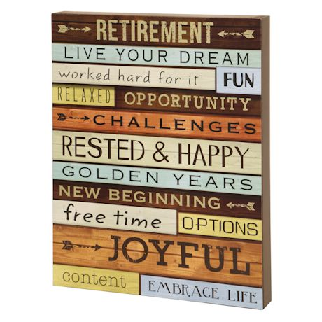 Retirement Dreams Sign