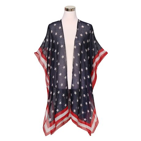 Stars And Stripes Shawl