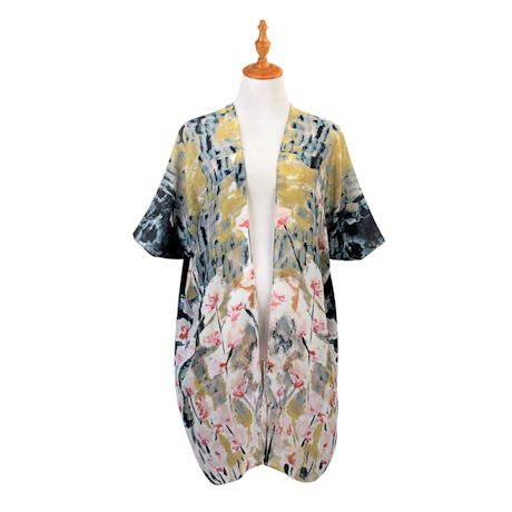 Painterly Floral Duster