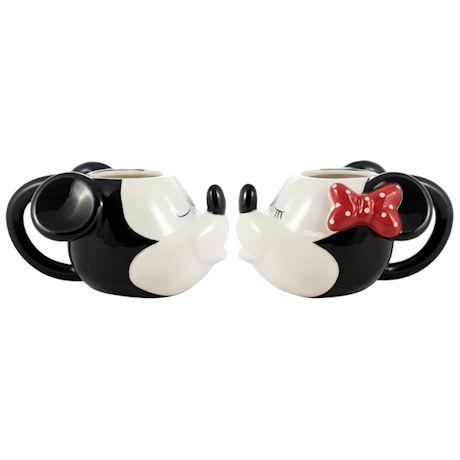 Mickey & Minnie Kiss Mugs
