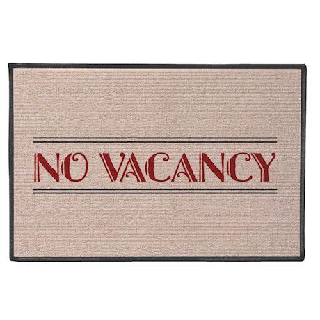 No Vacancy Doormat