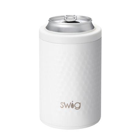 Golf Ball Swig Drinkware - 12 Oz. Can Cooler