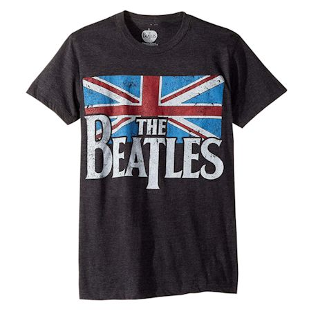 Beatles British Flag Tee