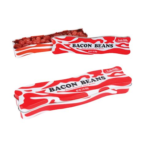 Bacon Jellybeans Food Candy - set of 2