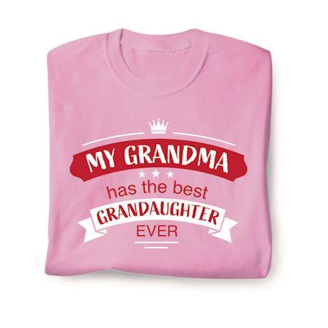 Best Family Members Shirts - Grandma/Grandaughter