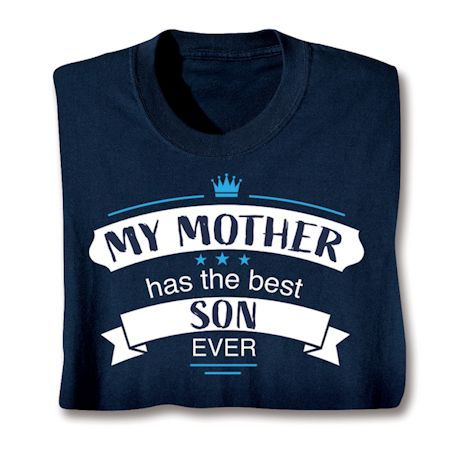Best Family Members Shirts - Mother/Son