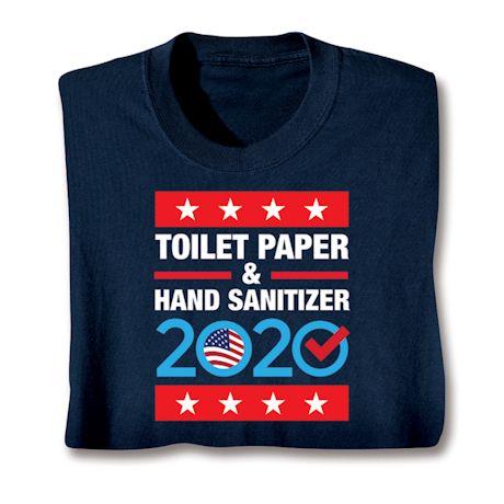 Toilet Paper & Hand Sanitizer 2020