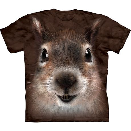 Squirrel Face T-Shirt