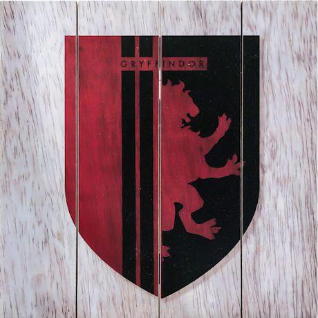 Hogwarts House Wood Wall Decor