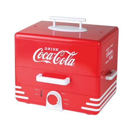 Vintage-Style Coca-Cola Hot Dog Steamer