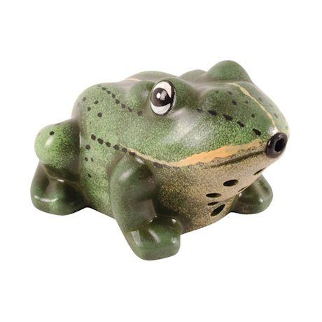 Motion-Sensor Garden Frog
