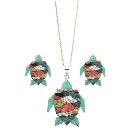 Sea Turtle Paper Jewelry