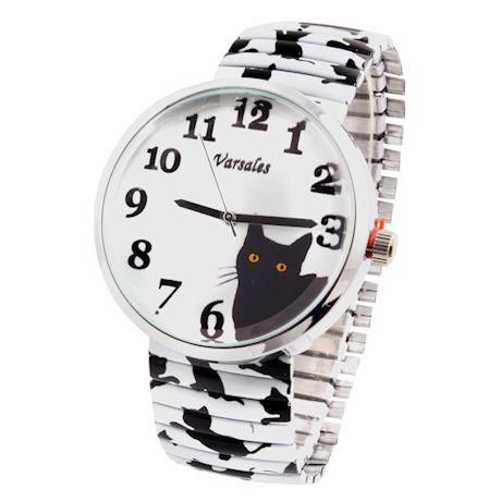 Cat Stretch Watch