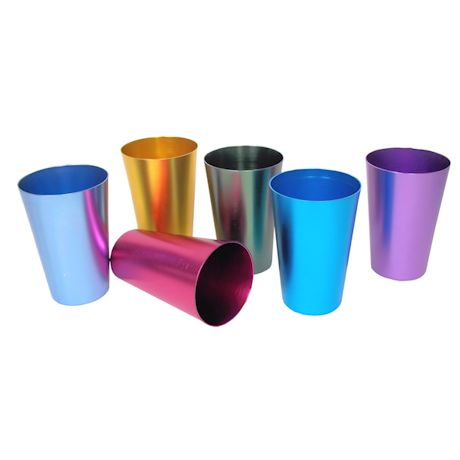 Jeweltone Aluminum Tumbler Set