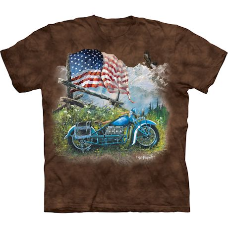 Biker Americana T-Shirt