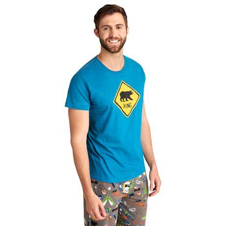 Men's Bear X-Ing Pj T-Shirt