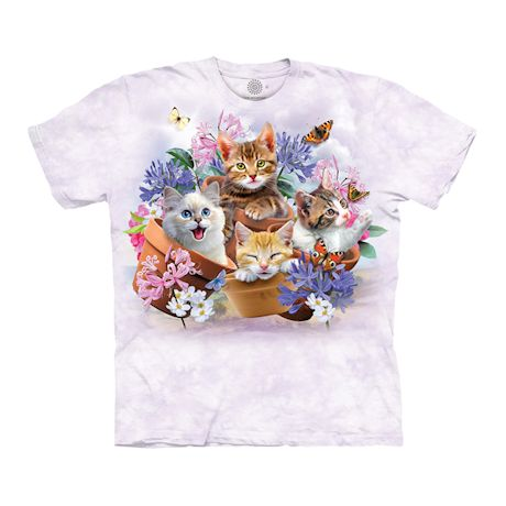 Cats In Planters T-Shirt