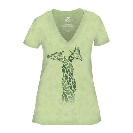 Entwined Giraffes T-Shirt