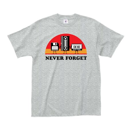 Never Forget Retro T-Shirt